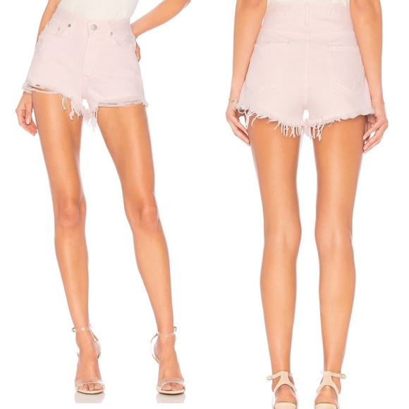 Lovers + Friends Pants - Lovers + Friends | Jack High Rise Distressed Short